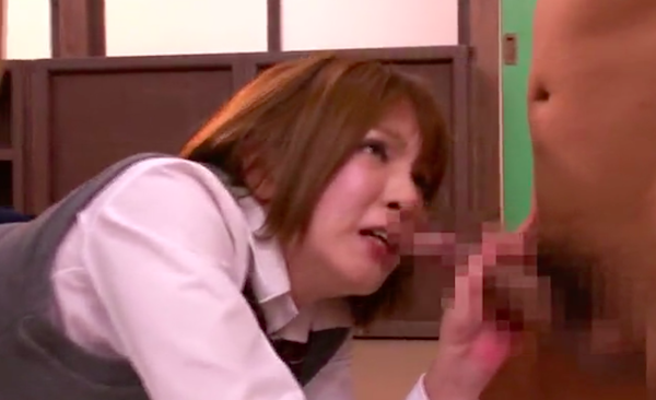 japanese girl ass to mouth